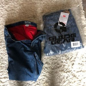Men's lined work jeans